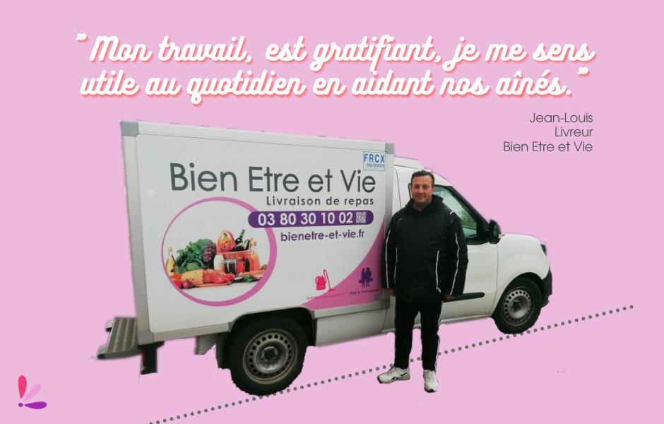 Interview de Jean-Louis, livreur